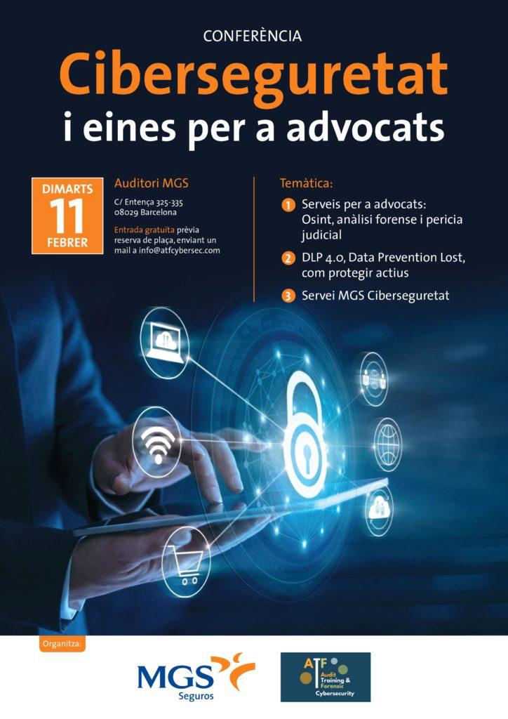Conferencia Ciberseguridad en Barcelona gratuita.