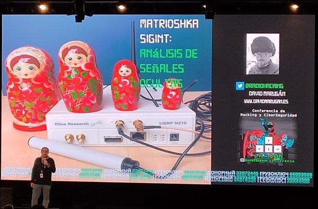 """David Marugán y Matrioshka SIGINT: el análisis de señales """"ocultas"""""""