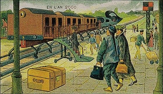 Así se imaginaban el futuro tecnológico en 1910