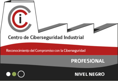 CCI: centro ciberseguridad industial , credencial negra